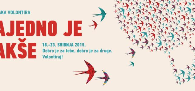 Manifestacija Hrvatska volontira u Labinu