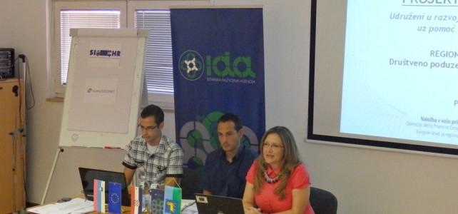 """Udruga za mlade Alfa Albona sudjelovala na regionalnoj konferenciji """"Društveno poduzetništvo – od ideje do društvenog poduzeća"""""""