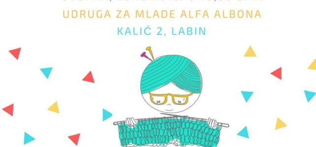 Besplatna radionica pletenja u Alfa Alboni
