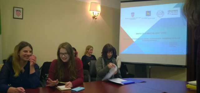 Započela provedba projekta Regionalni program za mlade Istarske županije
