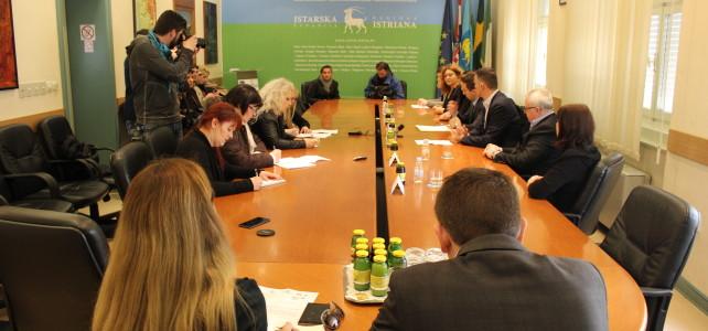 Održana konferencija za medije u sklopu Regionalnog programa za mlade Istarske županije