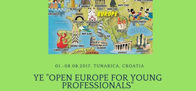 "U Tunarici razmjena mladih ""Open Europe for young professionals"""