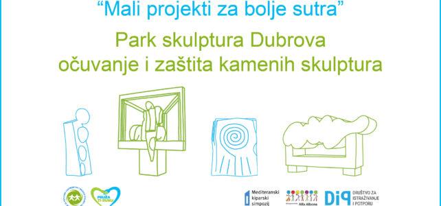 """Alfa Albona, partner na projektu """"Park skulptura Dubrova – očuvanje i zaštita  kamenih skulptura"""""""