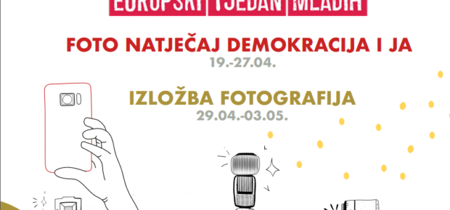 """Sudjeluj u foto natječaju """"Demokracija i ja"""" i osvoji vrijednu nagradu"""
