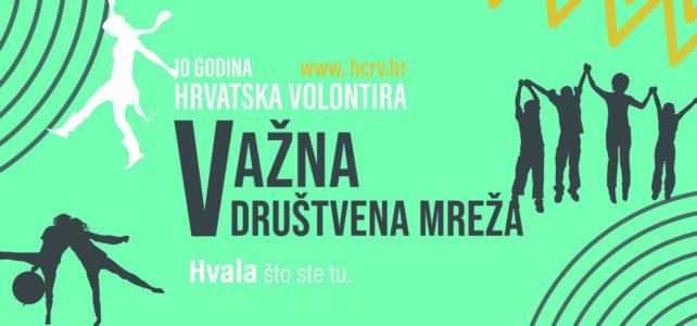 Uspješno provedena manifestacija Hrvatska volontira